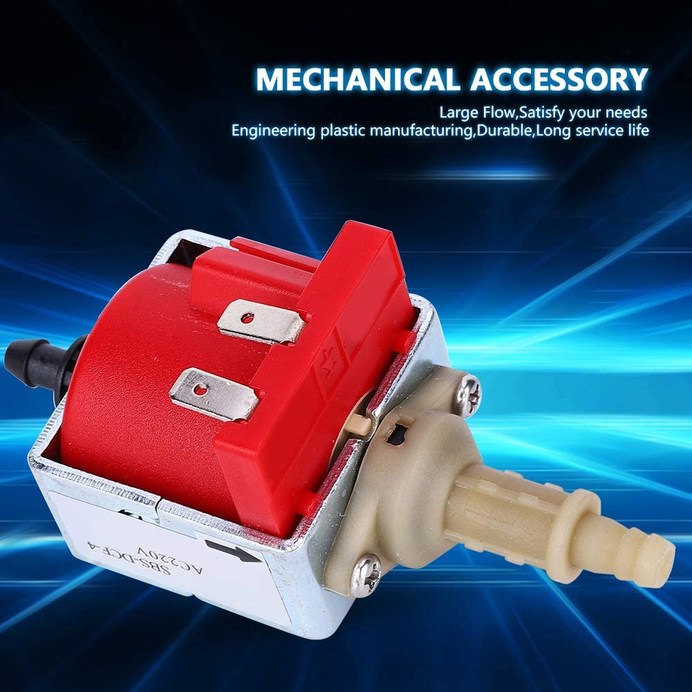 Water Pump Engineering Plastic Mechanical Accessory Electromagnetic Industrial Tool AC220V 25W Booster Water Pump
