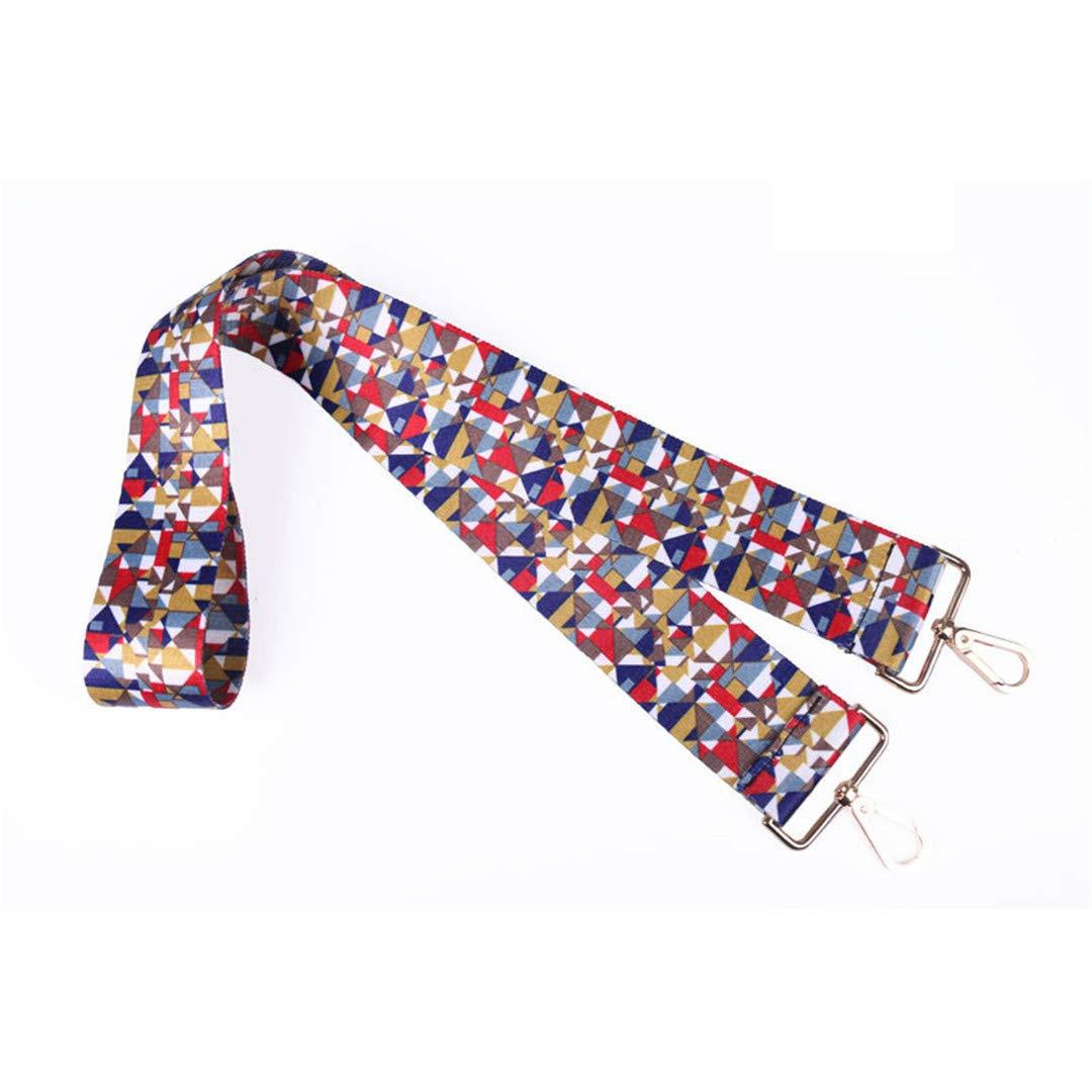 Colored Bags Straps Rainbow Belt Accessories Women Adjustable Shoulder Hanger Handbag Strap Decoration Handle Strap V20
