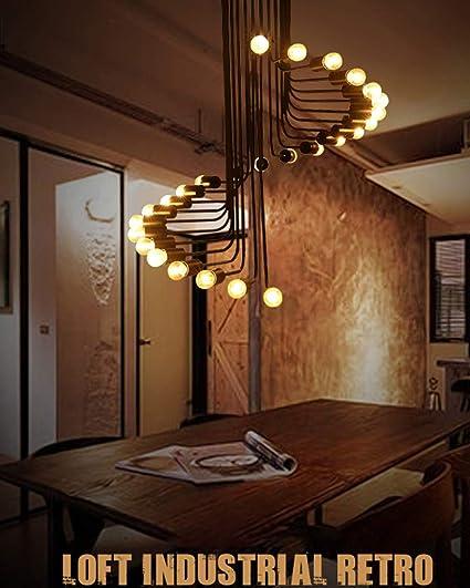 Vintage Industrie Kronleuchter Deckenlampen Hängelampe  Pendelleuchte 30-85cm