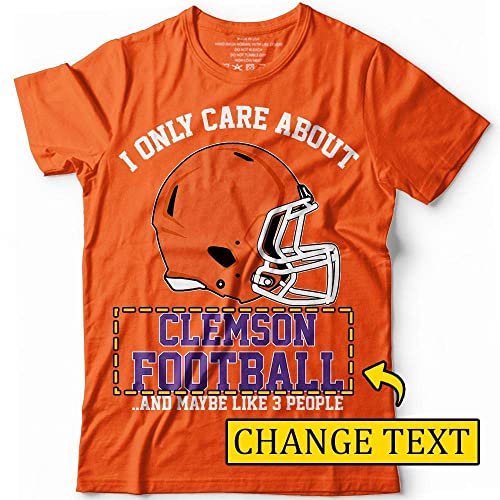 new styles 85a1d 00bf9 Amazon.com: South-Carolina I-Only-Care-About Clemson-Game ...