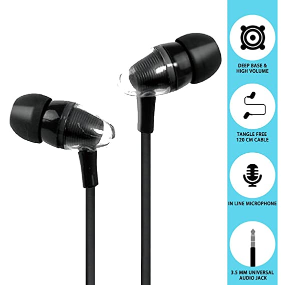 amazon com woozik hue 2 stylish headphones earbuds earphones with