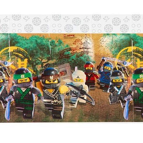 Caprilo Lote De 2 Manteles Decorativos Infantiles Para Mesas Lego