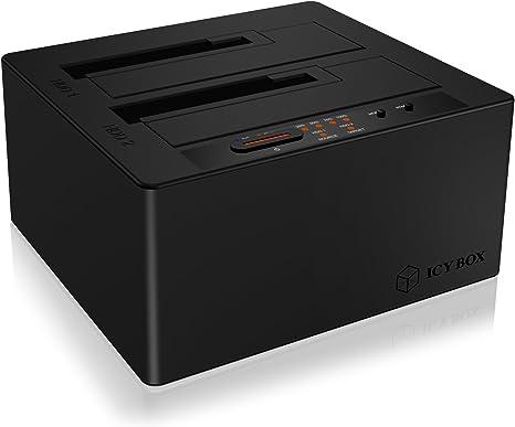 ICY BOX IB-121CL-C31 USB 3.1 (3.1 Gen 2) Type-C Negro - Bases de ...