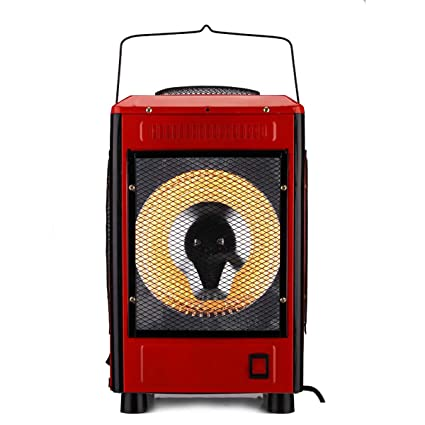 QWSH Calefacción Eléctrica Chimenea Eléctrica Efecto Llama Radiador para El Oficina Dormitorio Calefacción Funciones Independientes Termostato