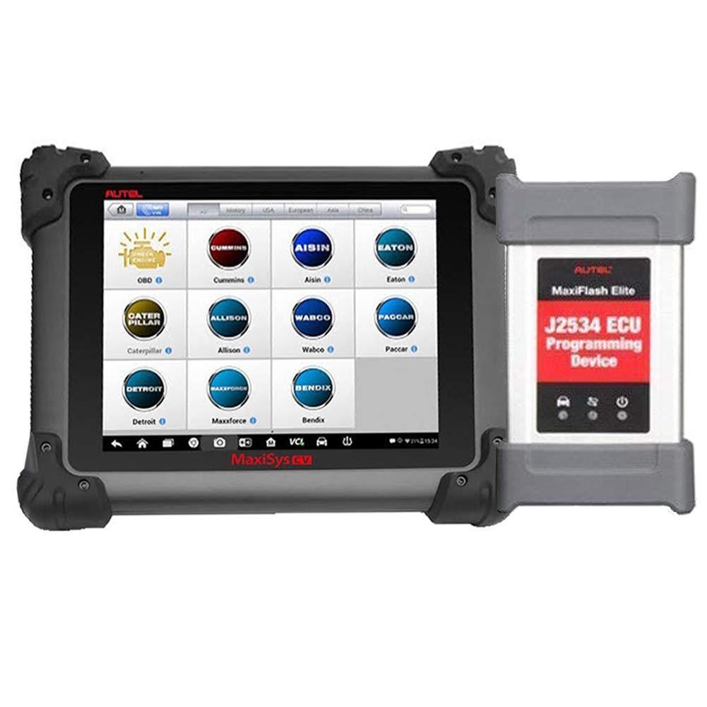 Autel Maxisys CV MS908CV Heavy Duty Diagnostic Tool with J-2534 ECU  Programming, BT, WiFi Connection