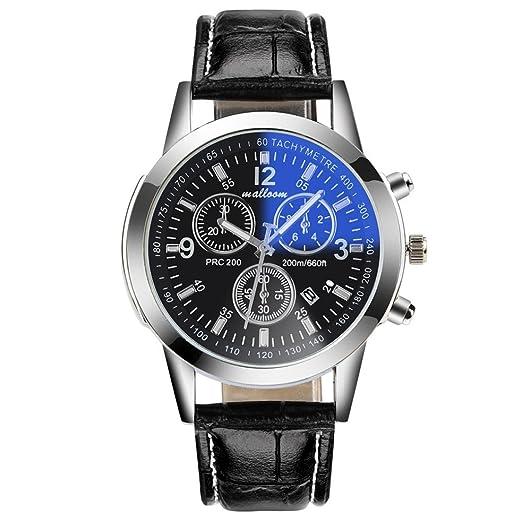 Reloj Hombre Barato, Hombre Lujo o Cuarzo analógico Piel sintetico Relojes de pulsera (01