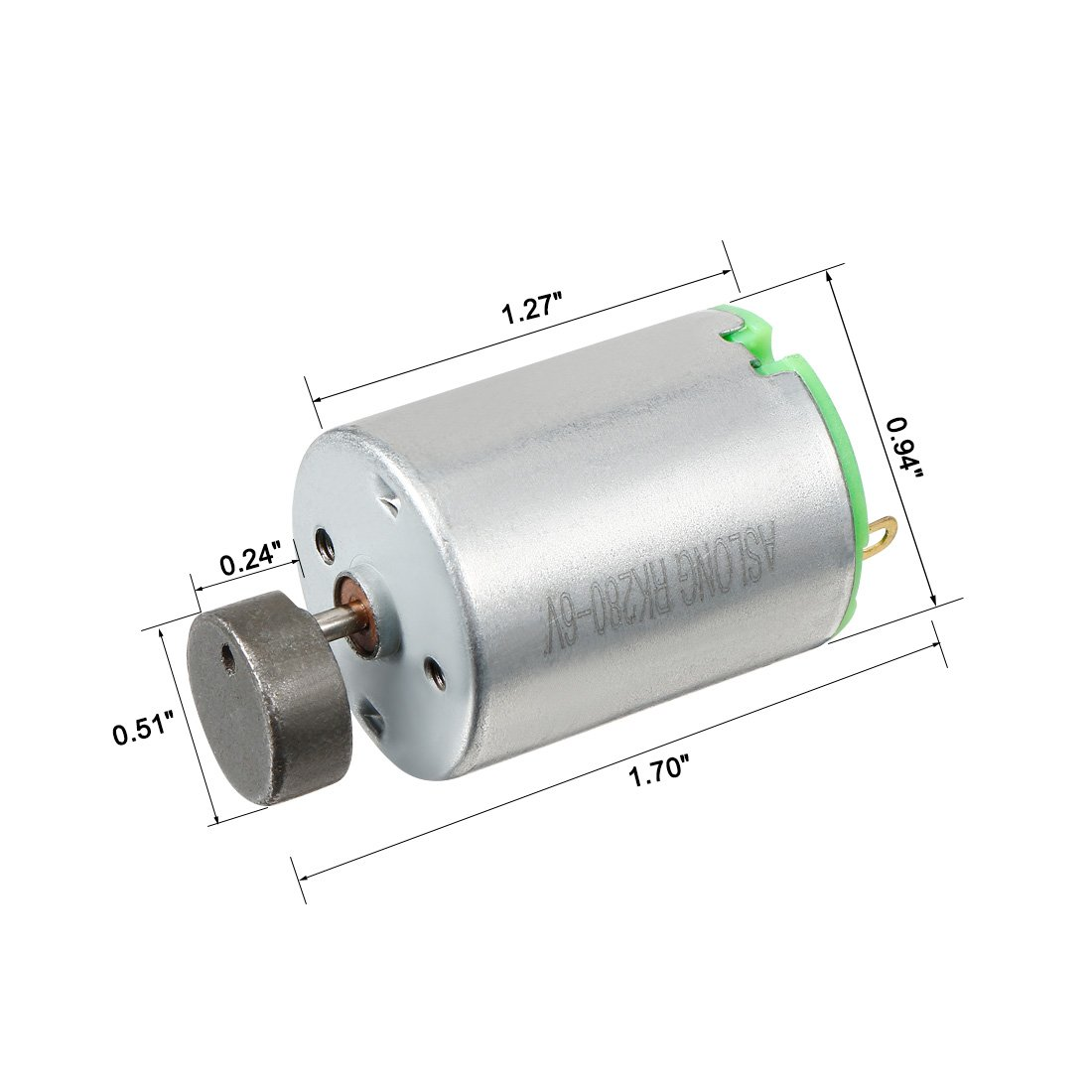 DC 1.5-6V 50000RPM Micro Coreless Vibrating Motor 6x14mm for Toys DIY