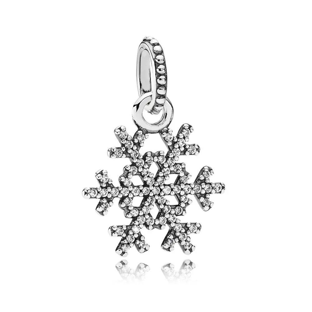 Pendentif Flocon de Neige En argent 925/1000e Ya Hing Jewellery 19-1413-SN