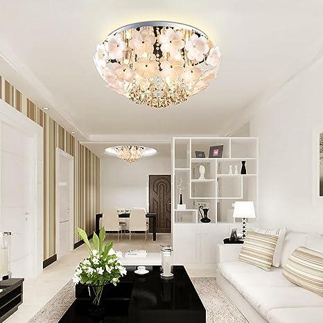 LED Redondo Lámpara de techo Moderno Sencillo Flor Diseño ...