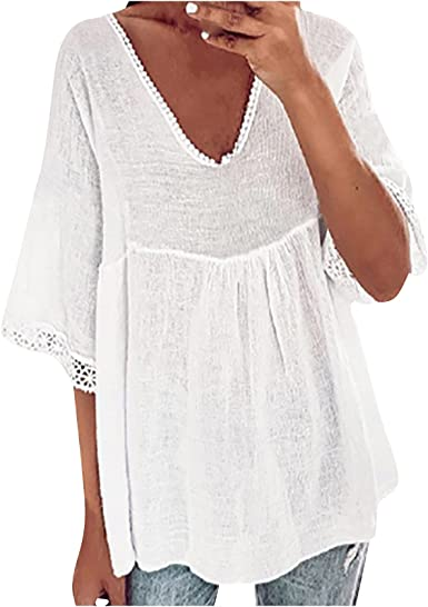 Camiseta de mujer con estampado vintage, parte superior de ...