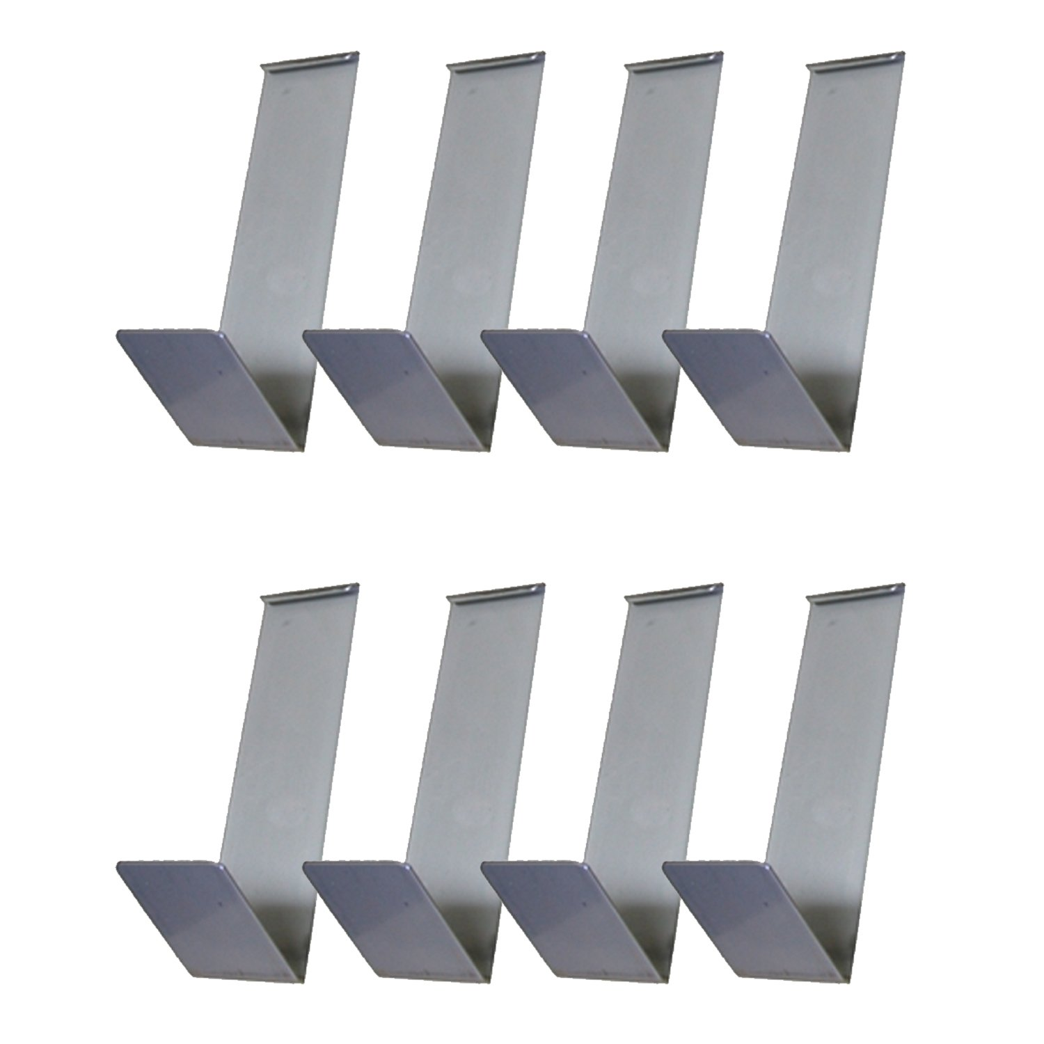 Vinyl Siding Clips, for Hanging Clothes, Shoes, Sandals (8-Pack)