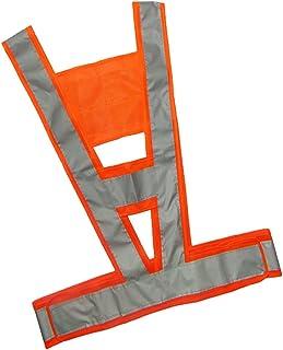 kesoto Safety Vest Reflective V-Shaped Traffic Light-Reflecting High Visibility One Size Fits Most