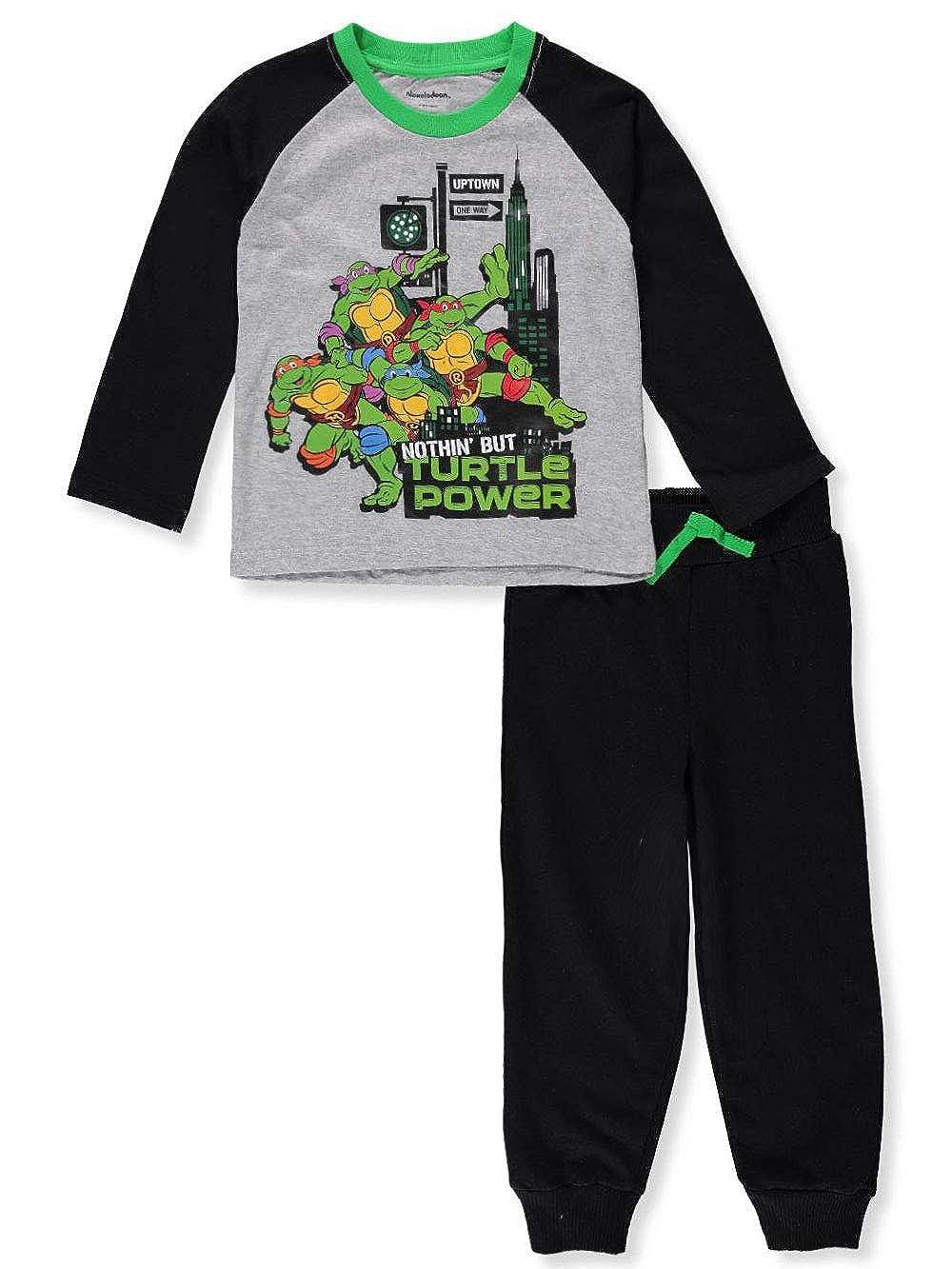 Teenage Mutant Ninja Turtles TMNT Boys' 2-Piece Pants Set Outfit