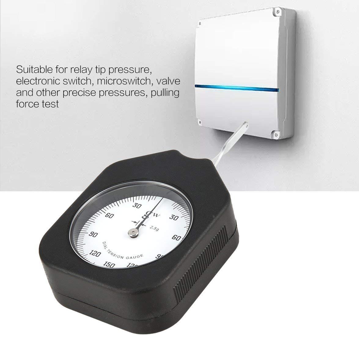 Kongqiabona 150g Tensiómetro analógico Tensiómetro analógico 150g Dial Indicador de tensión Medidor Probador Dinamómetro tabular: Amazon.es: Electrónica
