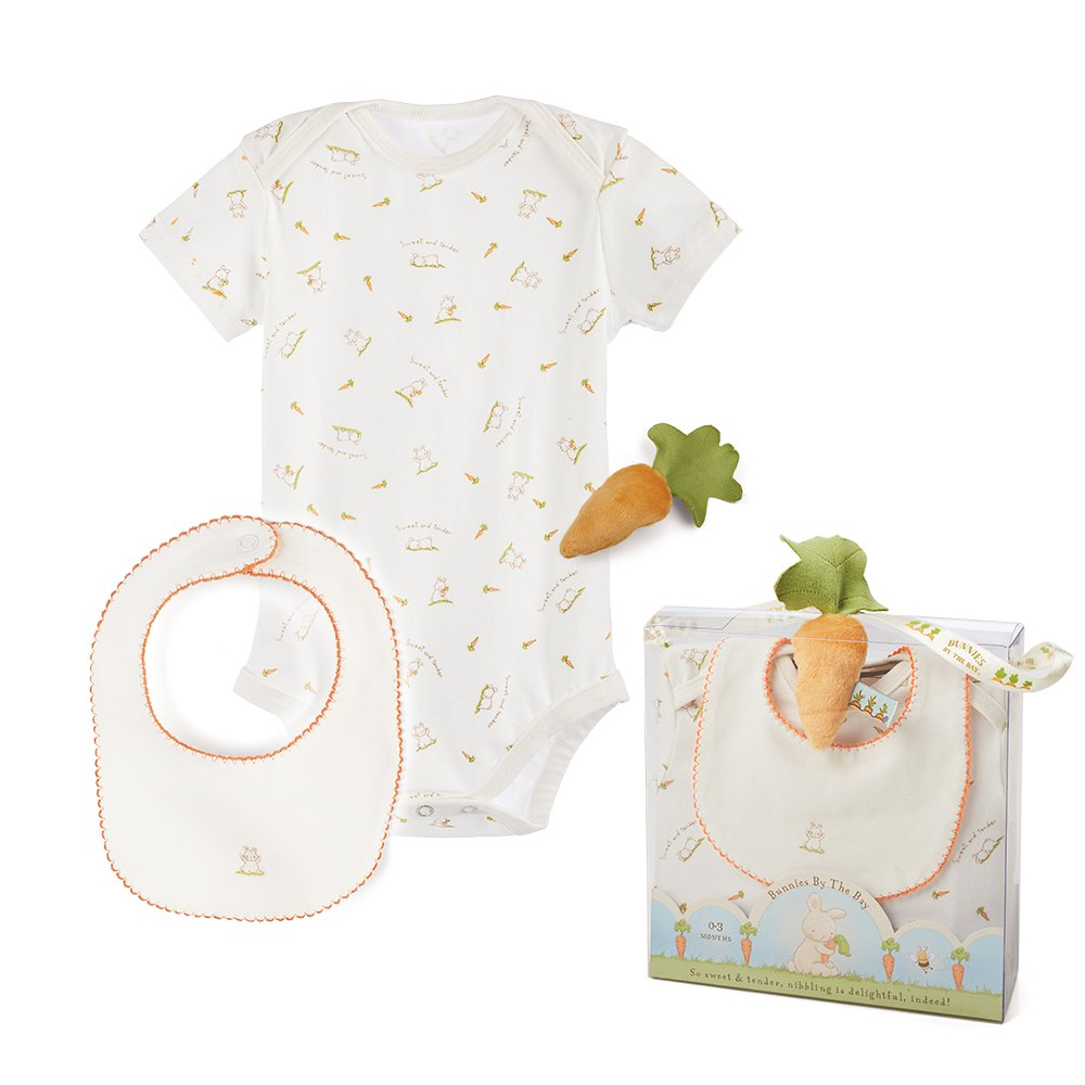 Bunnies by The Bay Sweet Bunny Bunsie set, crema