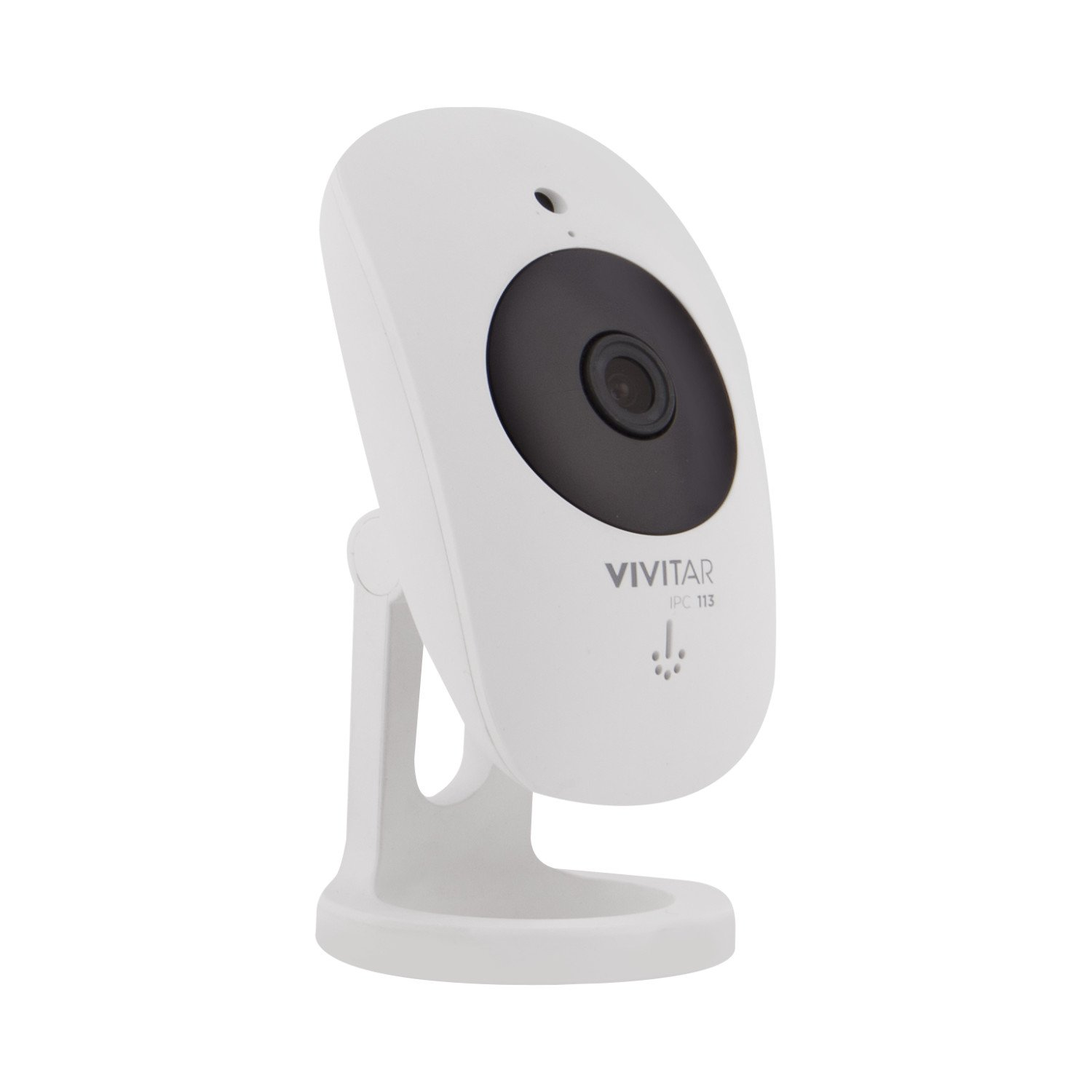 Vivitar IPC113-WHT Wide Angle 1080p HD Wi-Fi Smart Home Camera with Motion Detection, Night Vision, Cloud Backup, Two-Way Audio, Child and Pet Monitor, iOS and Android App for Home Or Office Use by Vivitar