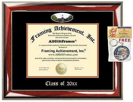 Amazon.com - Bucknell University Custom Diploma Frames Embossed Best ...
