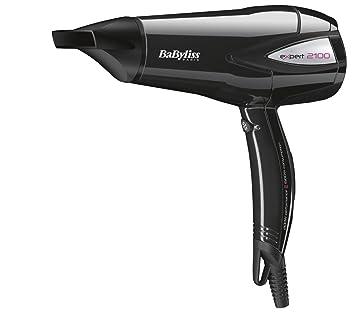 BaByliss D321E - Secador de pelo, 1500 W, tres velocidades, color negro: Amazon.es: Salud y cuidado personal
