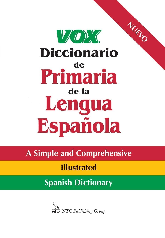 Vox Diccionario De Primaria De La Lengua Española Vox Dictionary ...