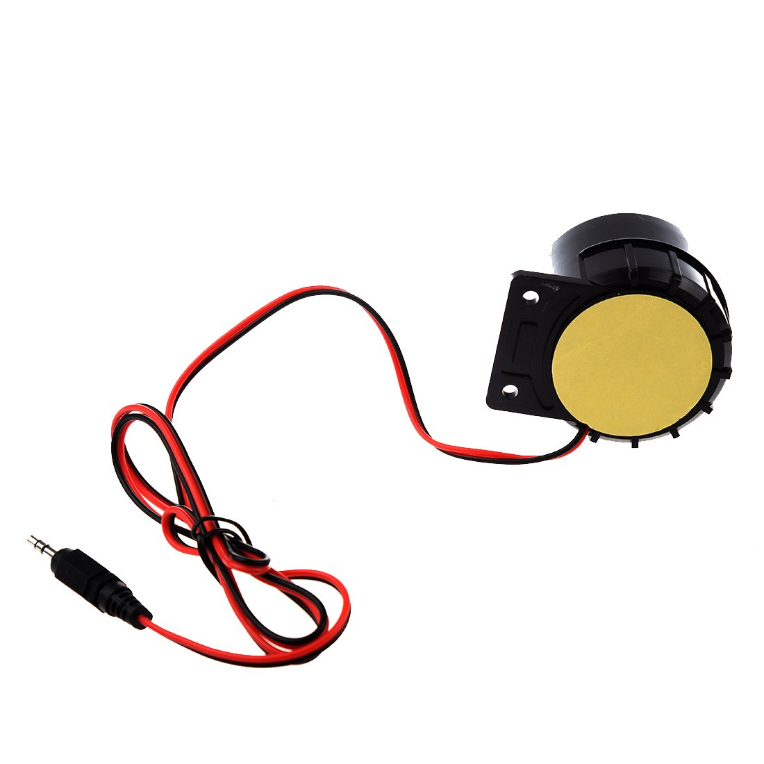Semoic Mini Sirena con cable para sistema de alarma de seguridad de casa Sirena de bocina 120dB 12V