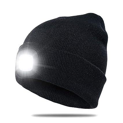 2ec7f88aae5 Leegoal LED Knit Hat