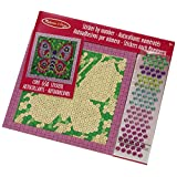 Melissa & Doug Peel and Press Mosaics Sticker by Number Kit: Butterfly - 650+ Stickers