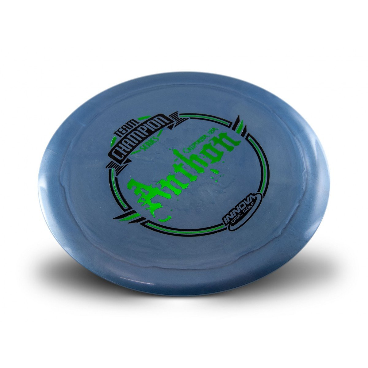 Innova Limited Edition Team Champion Tour Series Josh Anthon Shimmer Star Destroyer Disc Golf Distance Driver (Stamp colors may vary) (Purple)