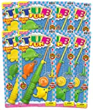 JaRu Tub Fun Fishing Set Party Favor Bundle Pack