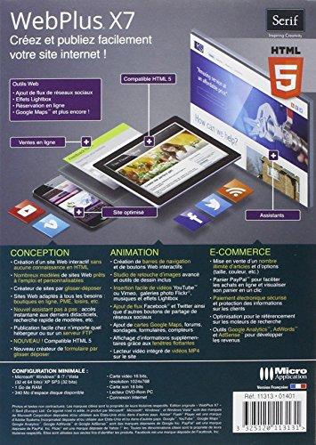 7660827ed96e96 WebPlus X7  Amazon.fr  Logiciels
