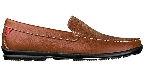 68aa80dc51e Amazon.com  FootJoy Club Casuals Shoes Mens - 79054 TAN - 7.5 WIDE ...