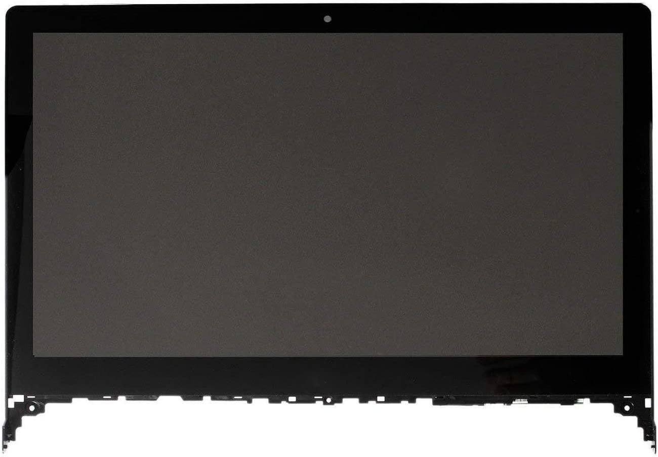 "Bblon 15.6"" 1920x1080 Screen Touch Glass Panel Digitizer Panel LCD Display Screen Assembly + Bezel for Lenovo Flex 2-15 20405"
