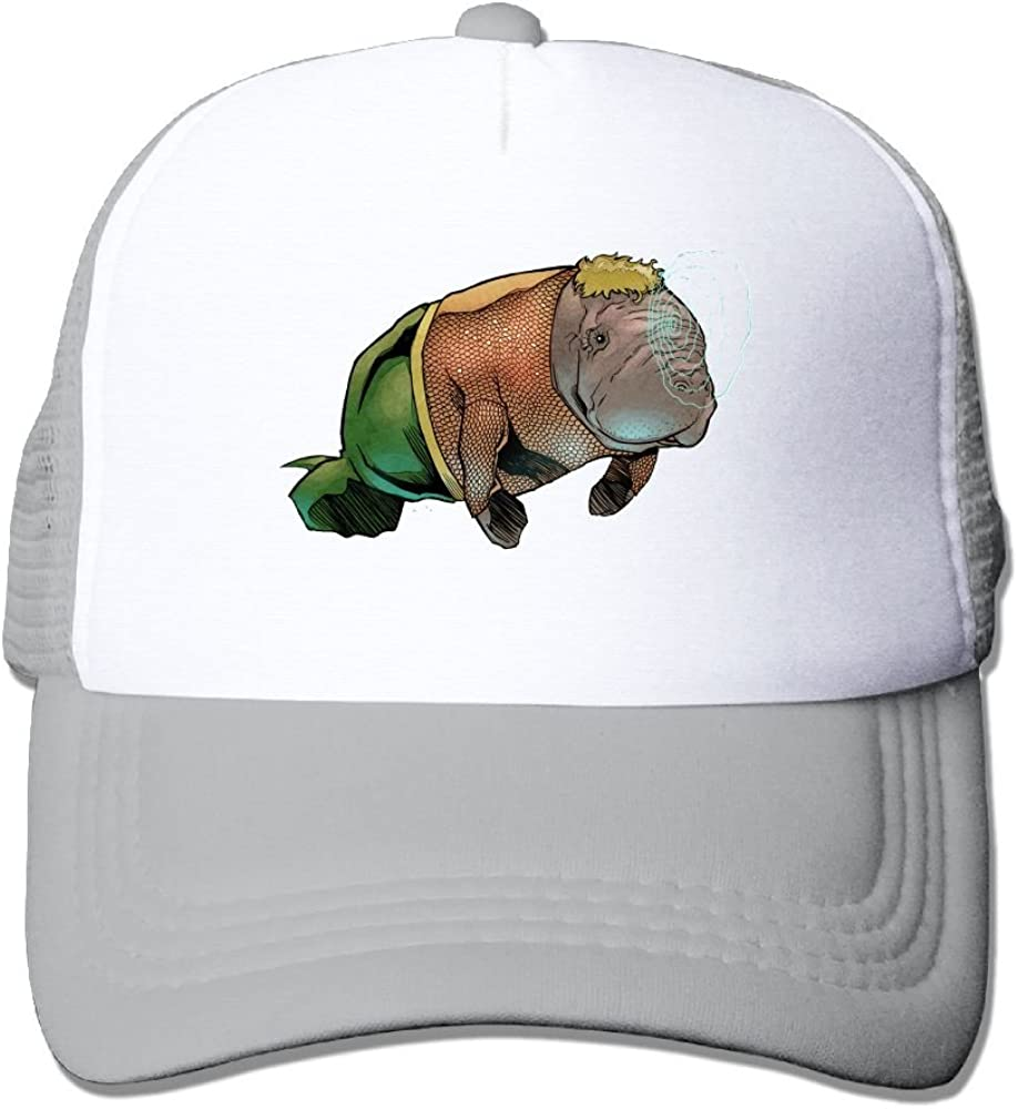 Manatee Sea Animal Simple Baseball Caps For Unisex Designs Great For Outdoor Hiking Sunmmer Hat