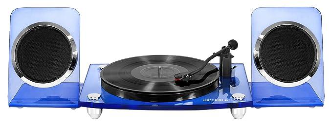 Amazon.com: Innovative Technology VM-100C-BLU Victrola ...