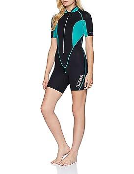 90961aa1f5 Seac Ciao Combinaison Shorty Neoprene Femme 2.5 mm pour Plongée, Natation,  Activités Aquatiques