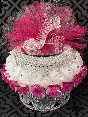 Amazon Sweet 16 Glass High Heel Shoe Girls Birthday Cake Topper Centerpiece Everything Else