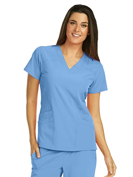 8ac17df842a Barco One Women's 5106 V-Neck Scrub Top: Amazon.ca: Clothing ...