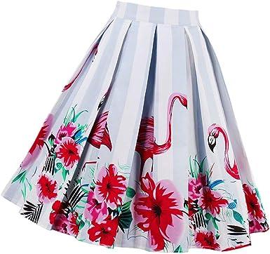Falda Plisada Elegante Las Mujeres De Una Línea Faldas De Moda ...