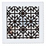 3dRose Danita Delimont - Patterns - Qatar, Doha, Abdul Wahhab Mosque, window detail - 22x22 inch quilt square (qs_257254_9)