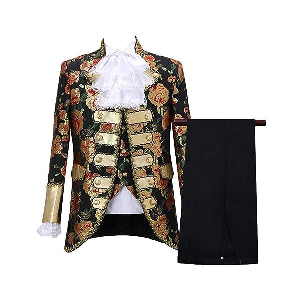 Yijinstyle Traje Elegante Retro Europeo Vestido de Corte de ...