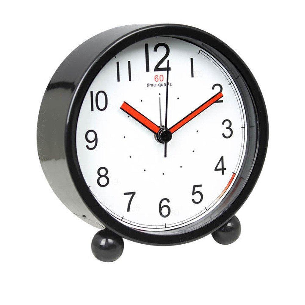 Harryup Children Alarm Clock - Analog Battery Operated Animal Themed (White)