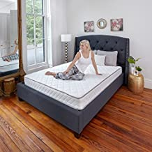 Classic Brands Individually Wrapped Coils Innerspring 7-Inch Firm Mattress | Noiseless and Comfortable, Full