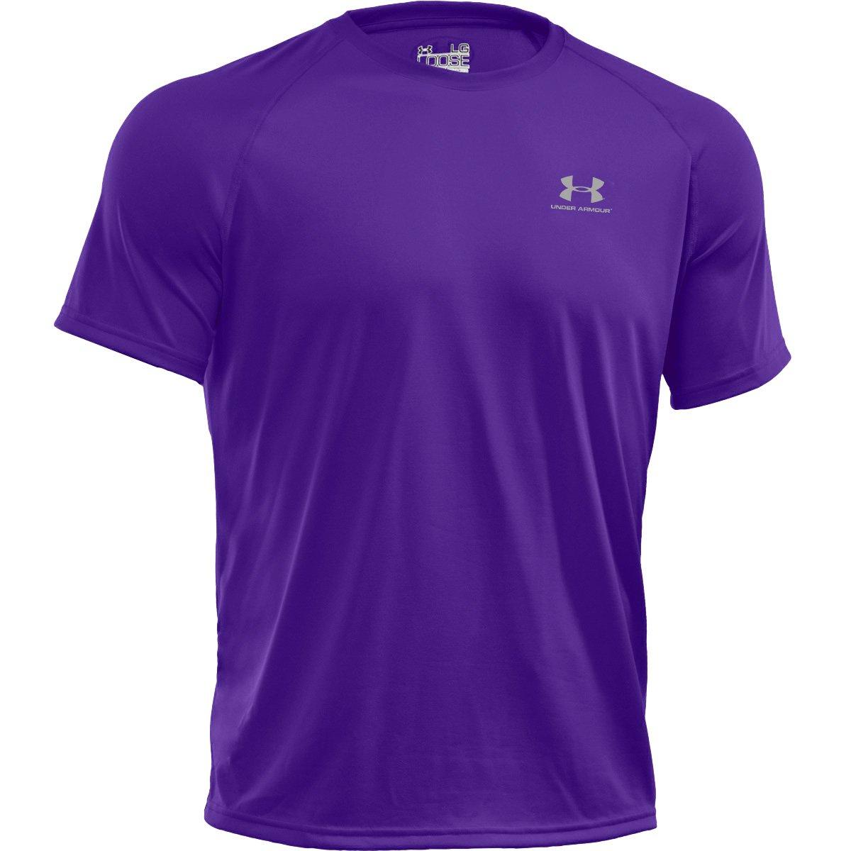 Under Armour Shirt New EU Tech Short Sleeve Tee - Camiseta de running para  hombre 908db6dae8afe