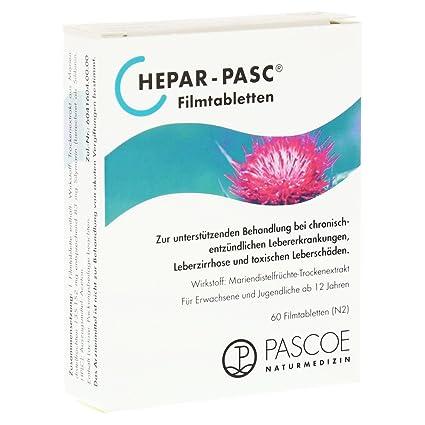 60 comprimidos recubiertos con película HEPAR PASC St