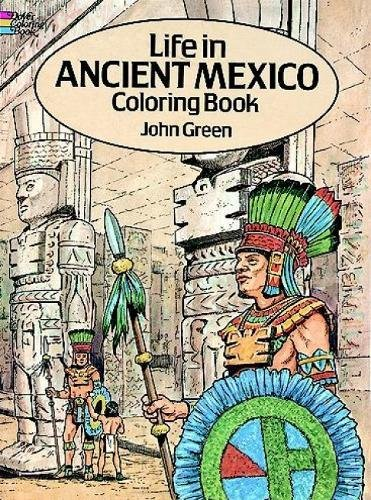 Ancient Mexico Coloring Dover History