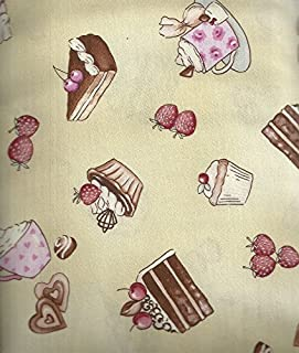 product image for Sweets Cakes Desserts Food Kitchen Timeless Treasures Fabric