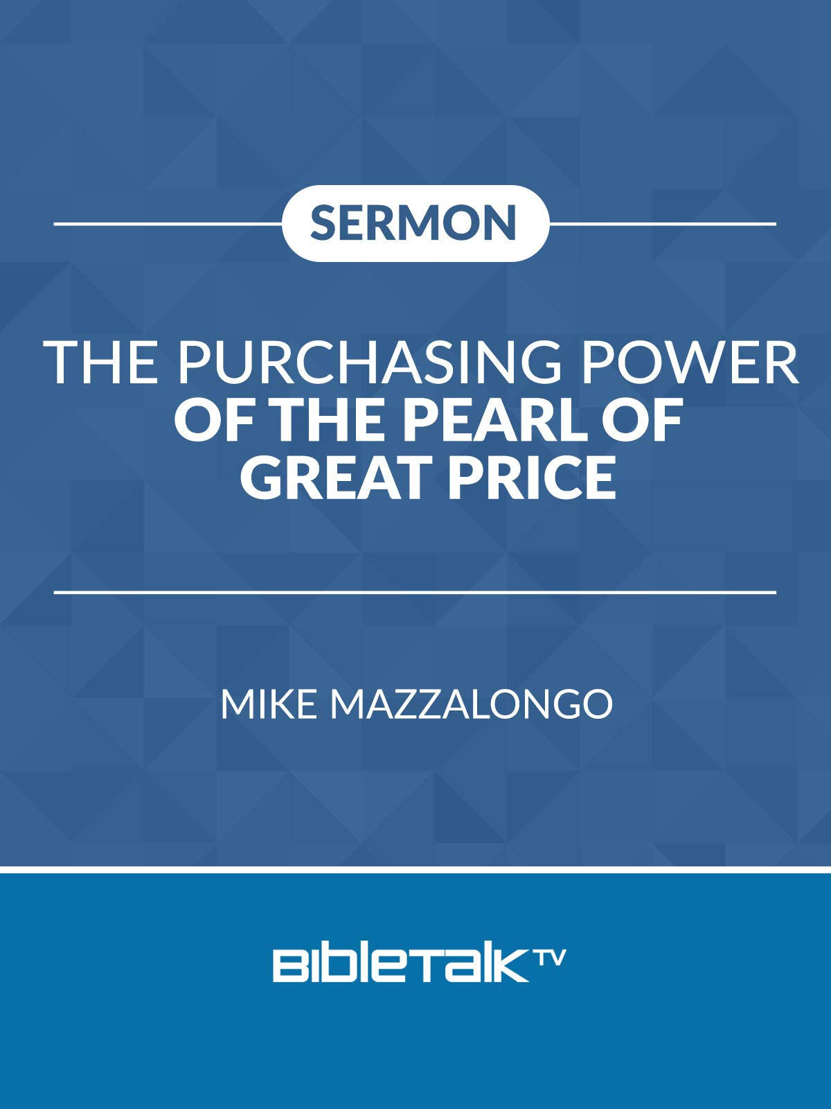 The Purchasing Power of the Pearl of Great Price