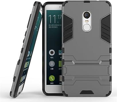 DWaybox Xiaomi Redmi Note 4X Armor Funda 2 in 1 Hybrid Heavy Duty ...