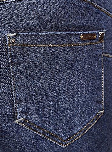 Oodji Up Push Skinny Donna Ultra Blu 7900w Jeans wvgxCpTv