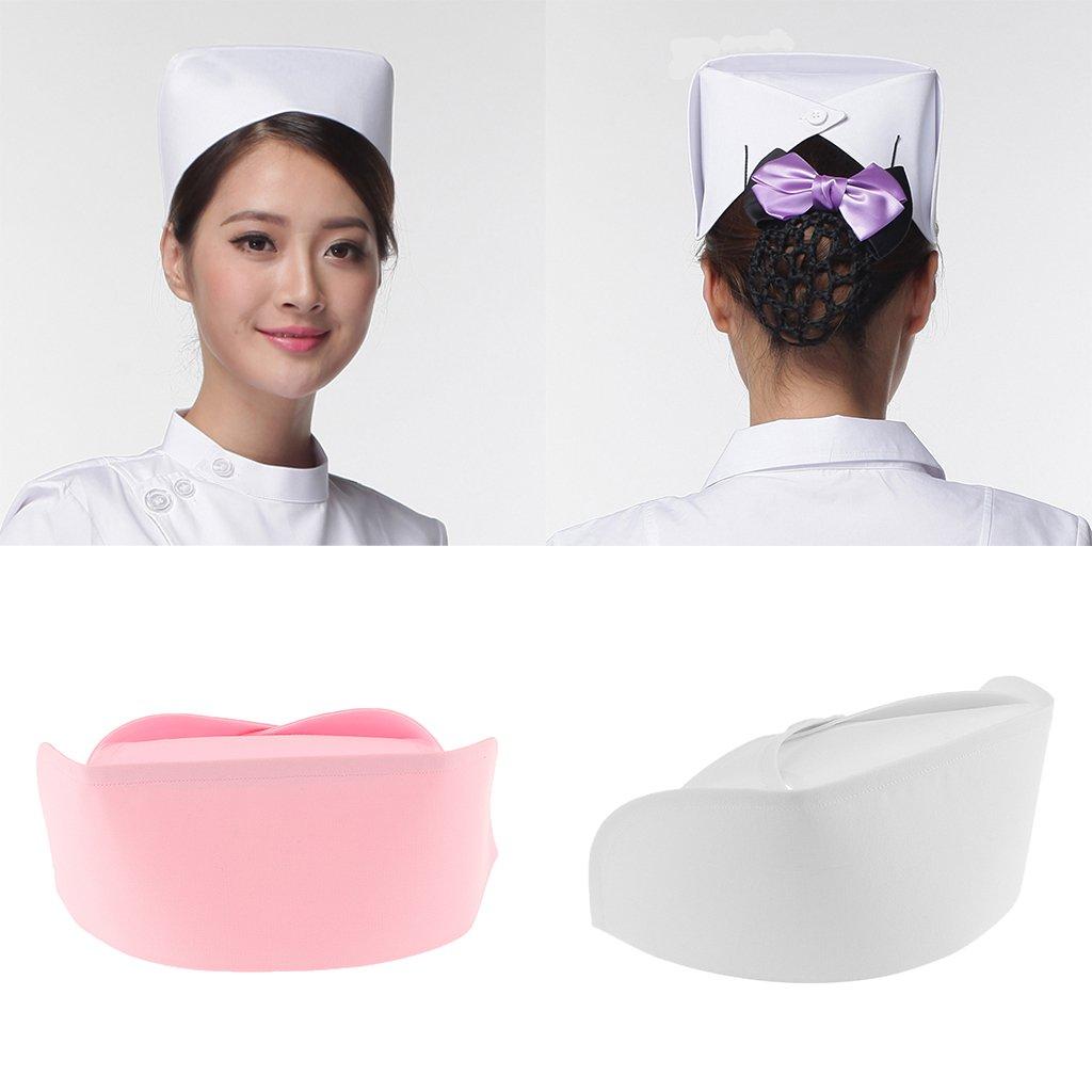 MagiDeal Cappello Dellinfermiera Sanitari Cappellini Dottore Hat per Donna