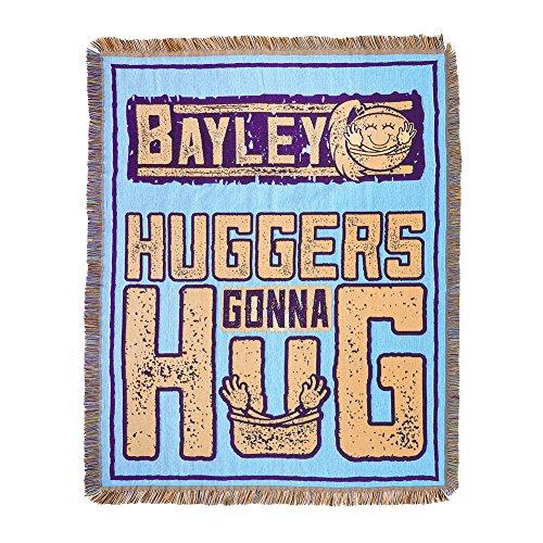 WWE Bayley Huggers Gunna Hug Tapestry Blanket